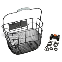 FRONT BASKET Q/R BLACK