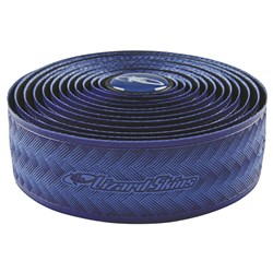 LIZARD SKINS BAR TAPE (6) 3.2 BLUE DURASOFT POLYMER