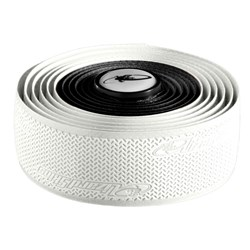 LIZARD SKINS BAR TAPE (6) WHITE/BLACK DURASOFT POLYMER