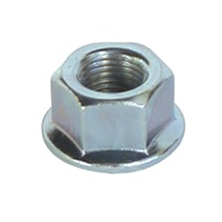 AXLE NUT REAR 3/8  FLANGED