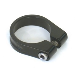 SEAT CLAMP ROAD 31.8MM BLACK