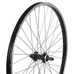WHEEL MTB ALLOY Q/R REAR BLK