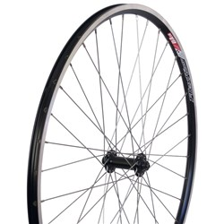 WHEEL ROAD Q/R FRONT BLACK