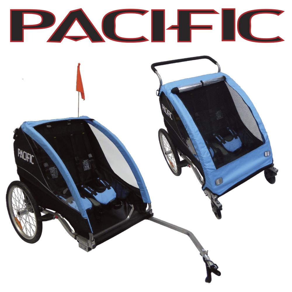 Pacific Bicycle Replacement Parts : Ptdd deluxe in trailer stroller child bike corp