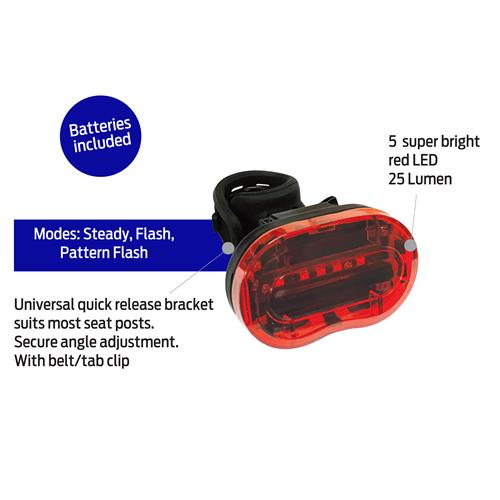 Blaze Light Set 40/25 Lumens