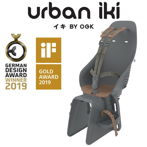 Rear Seat - Black/Brown