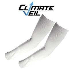 Cooling Arm Sleeves - White