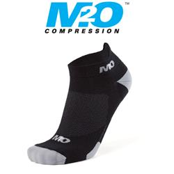 Ankle Sports Socks - Black/Grey - Large