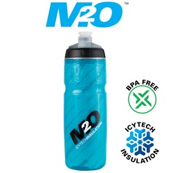 Pilot Water Bottle - 620ml - Blue/Black - Insulated