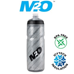 Pilot Water Bottle - 620ml - Smoke/Black - Insulated