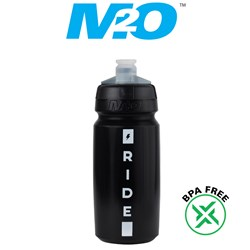 Pilot Water Bottle - 620ml - Black/White - Ride Fast