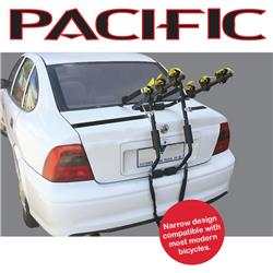 Rear Mount  3 Bike Carrier - Narrow