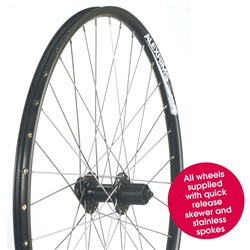 "Wheel - 27.5"" Rear Alloy Quick Release Disc"